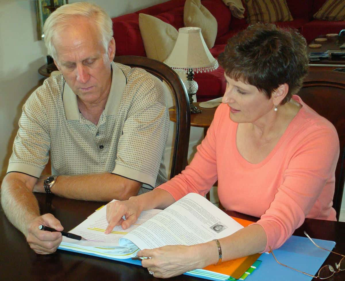 Patricia Charpentier Coaching a Client